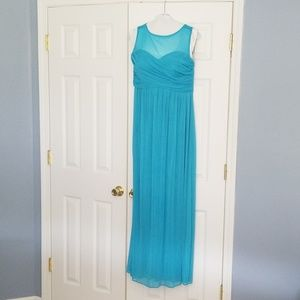 Malibu blue formal dress